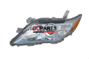 10-11 Camry Headlight Left HYBRID W/Bulbs