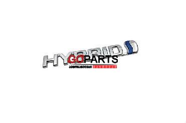 07- TOYOTA - ფრთის ლოგო HYBRID + 3M