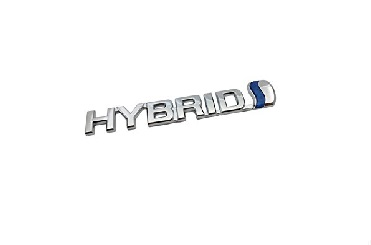 07- TOYOTA Side Emblem HYBRID + 3M