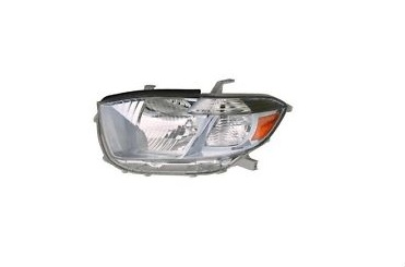 08-10 Highlander Headlight Left HYBRID