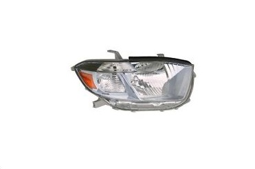 08-10 Highlander Headlight Right HYBRID