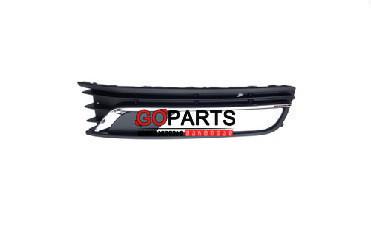 12-15 Passat Bumper Grill Lower Left W/Chrome