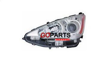 11-15 Prius C Headlight Left W/Bulbs