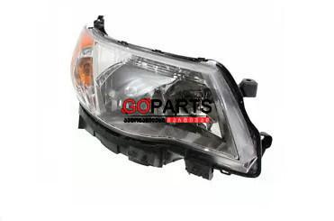 09-12 Forester Headlight Right W/Bulbs