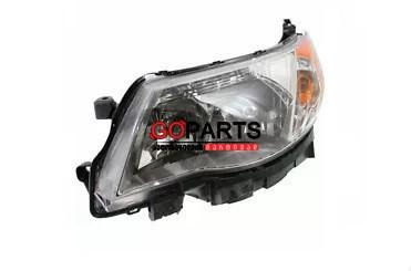 09-12 Forester Headlight Left W/Bulbs