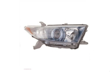 11-13 Highlander Headlight Right HYBRID