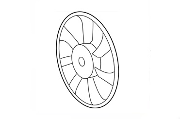 16- Prius - ვენტილატორი (7 ფრთა)