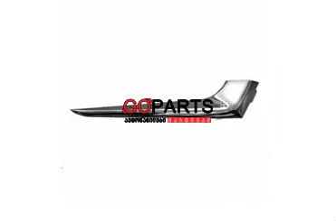 16-18 Malibu Bumper Chrome Molding LEFT