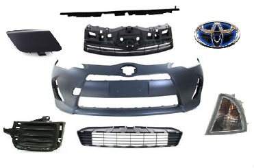 12-14 Prius C/AQUA - ბამპერი (კომპლექტი)