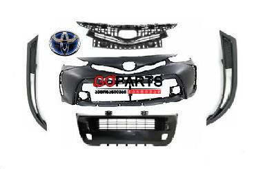 15-17 Prius V/ALPHA - ბამპერი (კომპლექტი)