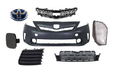 11-15 Prius V/ALPHA - ბამპერი (კომპლექტი)